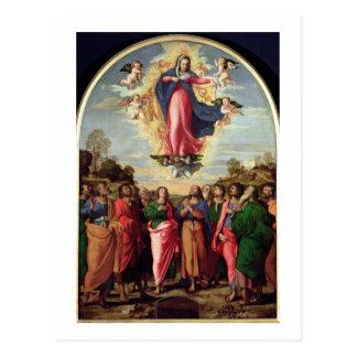 Acceptation de la Vierge Carte Postale