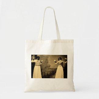 Accès de clôture vintage des femmes sac en toile budget