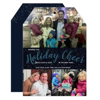 Acclamation de vacances - carte de Noël