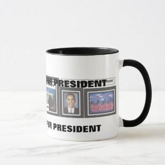 Accueil dans la tasse de Barack Obama de la Maison