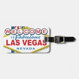 Accueil vers Las Vegas fabuleux Étiquettes Bagages