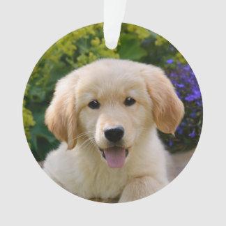 Acrylique rond de charme de chiot de chien de