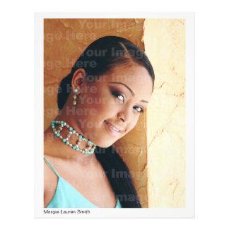 Acteur/ModelHeadshot met Samenvatting In bijlage Flyer