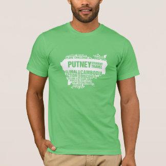 Action globale Cambodge dans des couleurs T-shirt