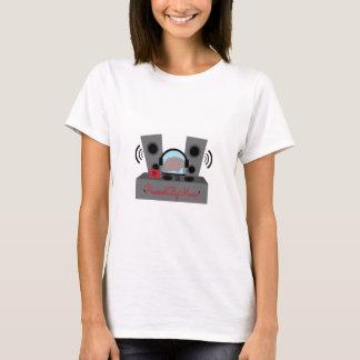Actionné par la musique t-shirt