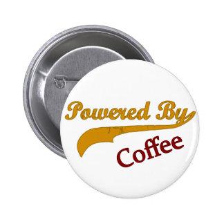 Actionné par le café badge rond 5 cm