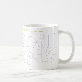 """""""Activité et cher Dieu…"""" Tasse de café"""