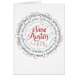 Adaptations de drame de période de Jane Austen de Carte