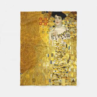 Adele Bloch-Bauer I door Gustav Klimt Fleece Deken