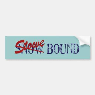 Adhésif pour pare-chocs attaché de Stowe Autocollant De Voiture