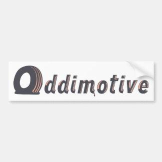 Adhésif pour pare-chocs bicolore d'Oddimotive Autocollant De Voiture