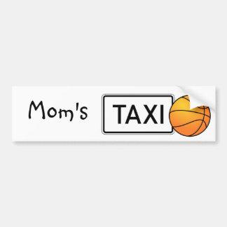 Adhésif pour pare-chocs de basket-ball du taxi de  autocollant de voiture