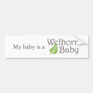Adhésif pour pare-chocs de bébé de Welborn Autocollant De Voiture