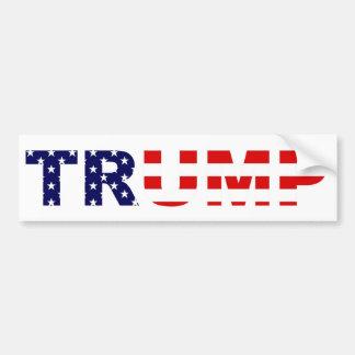 Adhésif pour pare-chocs de Donald Trump Autocollant De Voiture