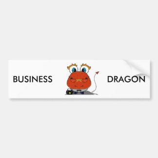 Adhésif pour pare-chocs de dragon d'affaires autocollant de voiture