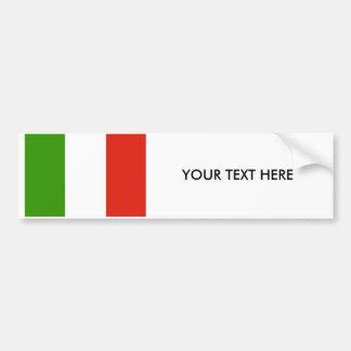 Adhésif pour pare-chocs de DRAPEAU de l'ITALIE Autocollant De Voiture