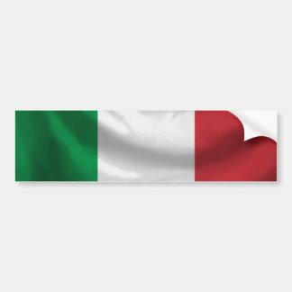Adhésif pour pare-chocs de drapeau de l'Italie Autocollants Pour Voiture