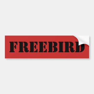 Adhésif pour pare-chocs de Freebird Autocollant De Voiture