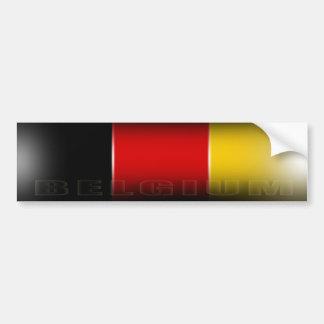Adhésif pour pare-chocs de la Belgique Autocollant De Voiture