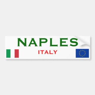 Adhésif pour pare-chocs de Naples, Italie Autocollant De Voiture