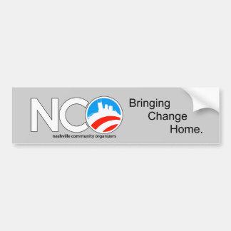 Adhésif pour pare-chocs de NCO Autocollant De Voiture