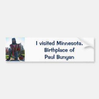 Adhésif pour pare-chocs de Paul Bunyan Autocollant De Voiture