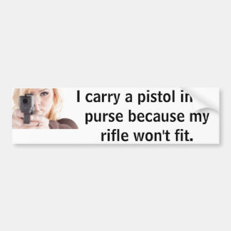 Adhésif pour pare-chocs de pistolet autocollant de voiture