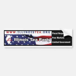 Adhésif pour pare-chocs de thé de l'Illinois Autocollant De Voiture