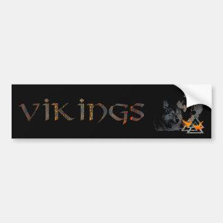 Adhésif pour pare-chocs de Viking Autocollant De Voiture