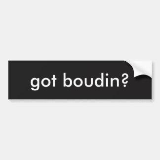 Adhésif pour pare-chocs obtenu de Boudin Louisiane Autocollant De Voiture