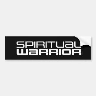 Adhésif pour pare-chocs spirituel de guerrier autocollant de voiture