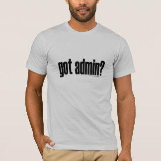 admin obtenu ? T-shirt