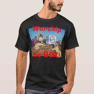 Adorez le T-shirt de boîte