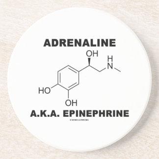Adrénaline d'adrénaline A.K.A. (chimie) Dessous De Verre En Grès