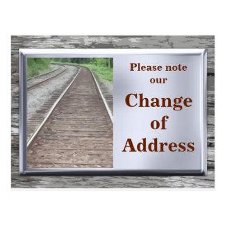 Adreswijziging - Briefkaart