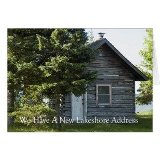 Adreswijziging: Het Adres van Lakeshore Briefkaarten 0