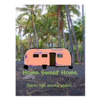 Adreswijziging van het Huis van het huis de Zoete Briefkaart