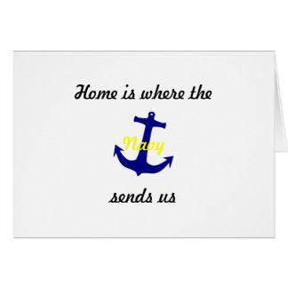 """adreswijzigings kaarten """"marine """""""