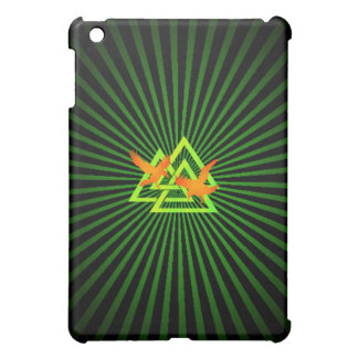 Affaire 3 de point de Raven Valknut Coque iPad Mini