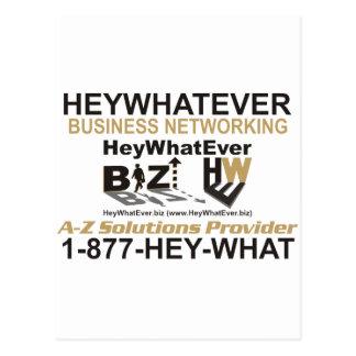 Affaires de HeyWhatEver Cartes Postales