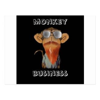 affaires de singe cartes postales