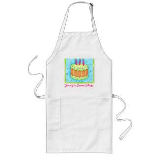 Affaires de tablier de gâteau d'anniversaire