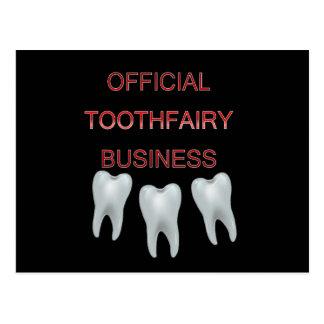 Affaires de Toothfairy Cartes Postales