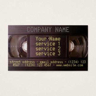 Affaires vidéo-audio de rétro de technologie carte