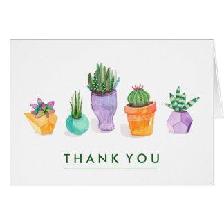 Affichage succulent carte