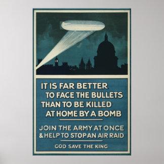 """Affiche 20"""" de recrutement d'armée britannique de"""