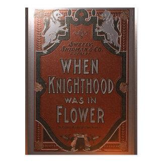 Affiche ancienne de théâtre cartes postales