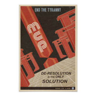 Affiche cinquième de propagande de jeu électroniqu