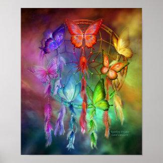 Affiche/copie de beaux-arts de rêves de Chakra