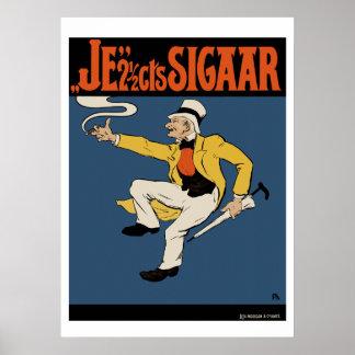 Affiche/copie de cigare : Le cigare de 2 cents de Poster